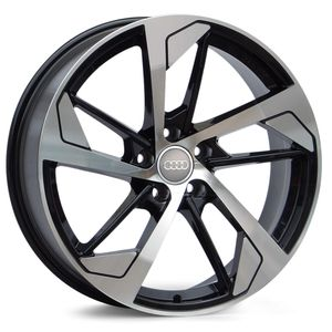 Jogo-de-Roda-Audi-RS5-Preta-Diamantada