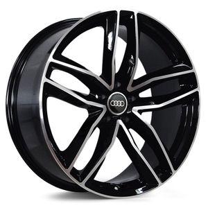 Jogo-de-Roda-Audi-RS6-Preta-Diamantada