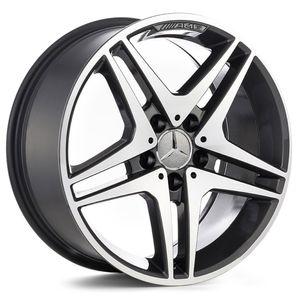 Jogo-de-Roda-Mercedes-CL500-Grafite-Diamantada