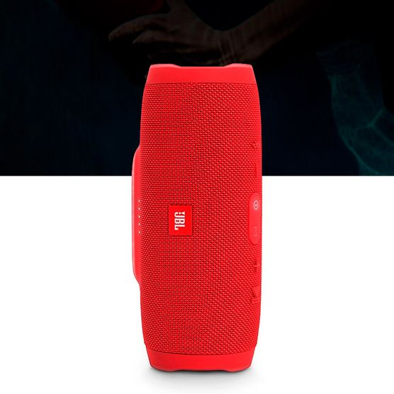 Caixa-De-Som-Portatil-Bluetooth-Jbl-Charge-3-Vermelha
