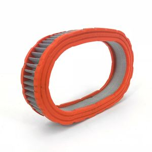 Elemento-Filtrante-Telado-Lavavel-para-Carburador--Borracha-Laranja-