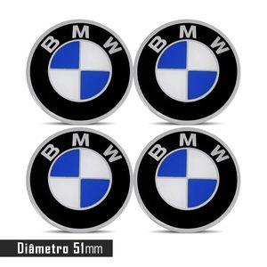 JOGO-EMBLEMA-LOGO-ADESIVO-RODA-BMW-51MM