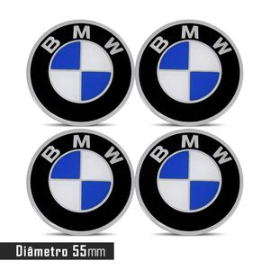 JOGO-EMBLEMA-LOGO-ADESIVO-RODA-BMW-55MM