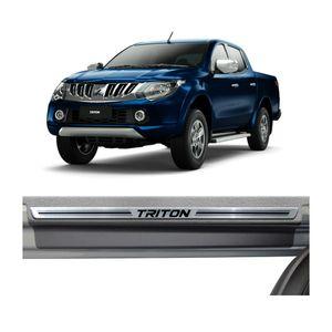 Kit-Soleira-Mitsubishi-Triton-Premium-Aco-Escovado-Resinado-2002-a-2015-4