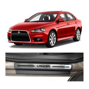 Kit-Soleira-Mitsubishi-Lancer-Premium-Aco-Escovado-Resinado-2010-a-2015-4