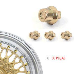 Kit-30-Rebite-BBS-Importado-Dourado--MODELO-Nº-06----BBS-ZUNKY