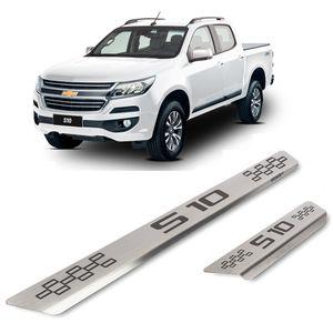 Kit-Soleira-Chevrolet-S-10-4P-Inox