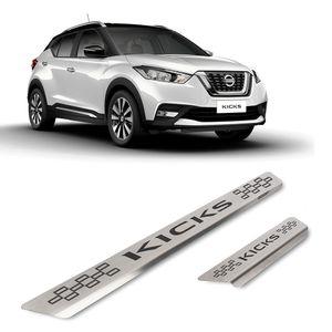 Kit-Soleira-Nissan-Kicks-4P-Inox