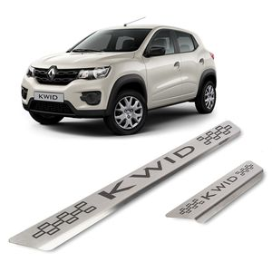 Kit-Soleira-Renault-KWID-4P-Inox