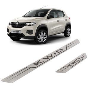 Kit-Soleira-Renault-KWID-Inox-Reta
