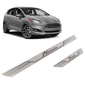 Kit-Soleira-Ford-Fiesta-Inox-Reta