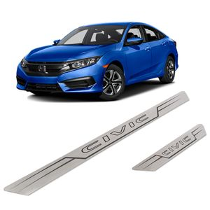 Kit-Soleira-Honda-Civic-Inox-Reta