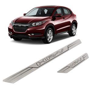 Kit-Soleira-Honda-HR-V-Inox-Reta