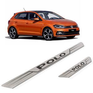 Kit-Soleira-Volkswagen-Polo-Inox-Reta