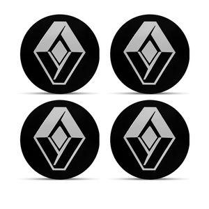 Jogo-4-Emblema-Roda-Renault-Preto