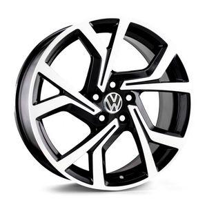 Jogo-de-Roda-KR-R94-VW-Golf-Preta-Polida
