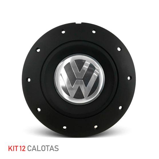 Jogo-12-Calota-Centro-Roda-Ferro-VW-Amarok-Aro-13-14-15-4-Furos-Preta-Fosca