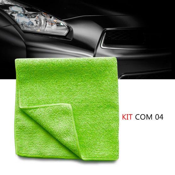 Kit-4-Pano-microfibra-automotiva-flanela-anti-risco-toalha-Verde