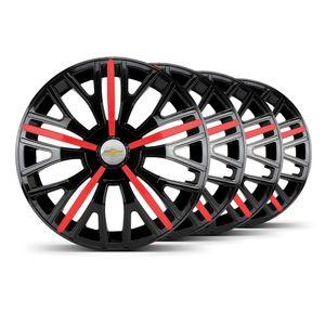 Jogo-4-Calota-Triton-Sport-Aro-14-Preta--Vermelha-GM-Prata