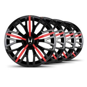 Jogo-4-Calota-Triton-Sport-Aro-14-Preta--Vermelha-Honda
