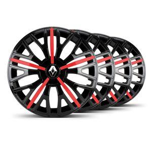 Jogo-4-Calota-Triton-Sport-Aro-14-Preta--Vermelha-Renault