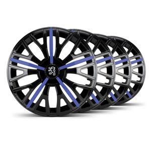 Jogo-4-Calota-Triton-Sport-Aro-14-Preta--Azul-Peugeot