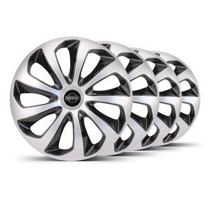 Jogo-4-Calota-Velox-Aro-14-Prata--Preta-Nissan