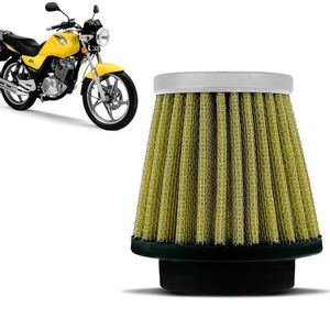 Filtro-Ar-Esportivo-Inbox-Racechrome-RCI-Suzuki-YES-Intruder-125-38MM-Amarelo