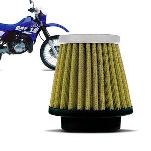 Filtro-Ar-Esportivo-Inbox-Racechrome-RCI-Yamaha-43MM-DT200-DT180-Amarelo