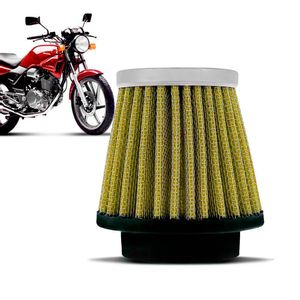 Filtro-Ar-Esportivo-Inbox-Racechrome-RCI-Honda-43MM-CBX200-Strada-NX200-Amarelo
