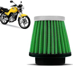 Filtro-Ar-Esportivo-Inbox-Racechrome-RCI-Suzuki-YES-125-38MM-Verde