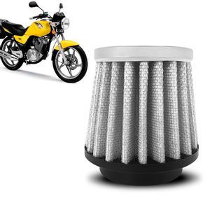 Filtro-Ar-Esportivo-Inbox-Racechrome-RCI-Suzuki-YES-125-38MM-Branco