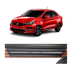 Kit-Soleira-Fiat-Cronos-2018-4-Portas-Carbono