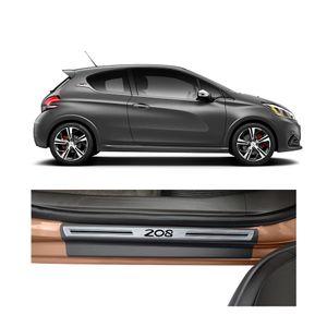 Soleira-Peugeot-208-Premium-Aco-Escovado-Resinado-2013-a-2015-4-Portas