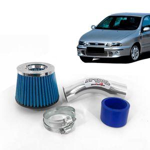 Filtro-Ar-Esportivo-Racechrome-Intake-Duplo-Fluxo-Azul-Fiat-Marea-1.6-1.8-2.0-2.4-Todos-os-Anos-1a