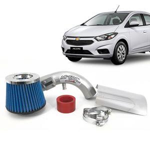 Filtro-Ar-Esportivo-Racechrome-Intake-Duplo-Fluxo-Azul-GM-Prisma-1.0--1.4-8V-2013--1a