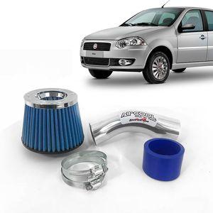 Filtro-Ar-Esportivo-Racechrome-Intake-Duplo-Fluxo-Azul-Fiat-Siena-1.8-8V-2006-1a
