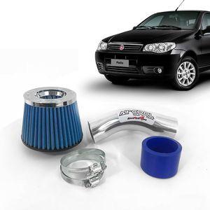 Filtro-Ar-Esportivo-Racechrome-Intake-Duplo-Fluxo-Azul-Fiat-Palio-1.8-8V-2006--1a