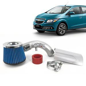 Filtro-Ar-Esportivo-Racechrome-Intake-Duplo-Fluxo-Azul-GM-Onix-1.0--1.4-8V-2013--1a