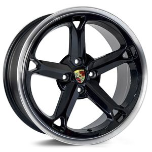 Roda-KR-M9-Porsche-Aro-17---Preto-Diamantada