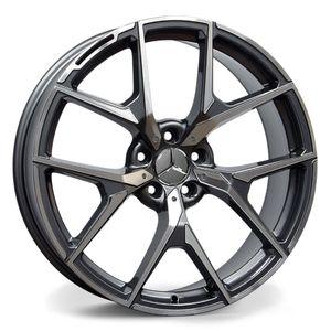 Jogo-de-Roda-Mercedes-AMG-Class-Grafite-Diamantada