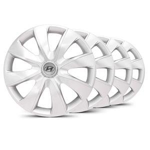 Jogo-4-Calota-Prime-Unicolor-Prata-Hyundai-Prata