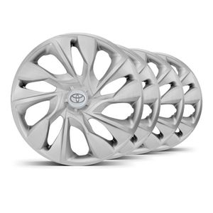 Jogo-4-Calota-DS4-Unicolor-Prata-Toyota-Prata