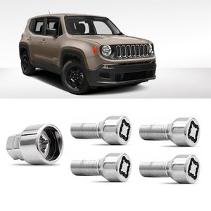 Jogo-Parafuso-Porca-Antifurto-Jeep-Renegade-1a
