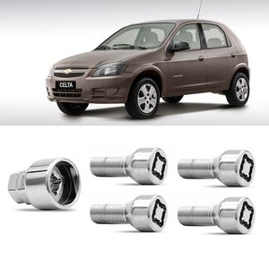 Jogo-Parafuso-Porca-Antifurto-Chevrolet-Celta-1a