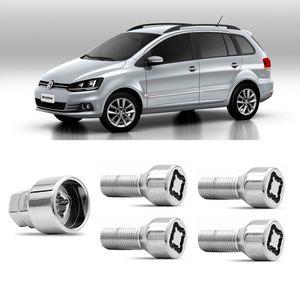 Jogo-Parafuso-Porca-Antifurto-Volkswagen-Space--Fox-1a