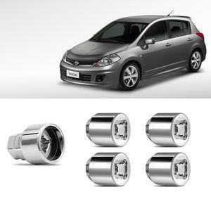 Jogo-Parafuso-Porca-Antifurto-Nissan-Tiida-1a