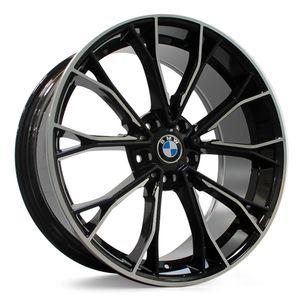 Roda-BMW-M550-Vittoria-Aro-20-Preto-Diamantada-1