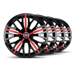 Jogo-4-Calota-Triton-Sport-Aro-14-Preta-Vermelha-Fiat-Vermelho