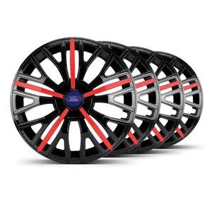 Jogo-4-Calota-Triton-Sport-Aro-14-Preta-Vermelha-Ford-Azul-Marinho